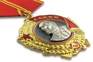 Medals with Ribbon Drape