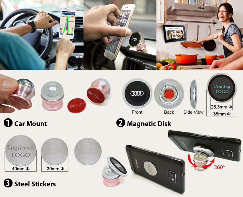 car mount and holders for smart phone